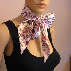 Michael Kors satin scarf tie.